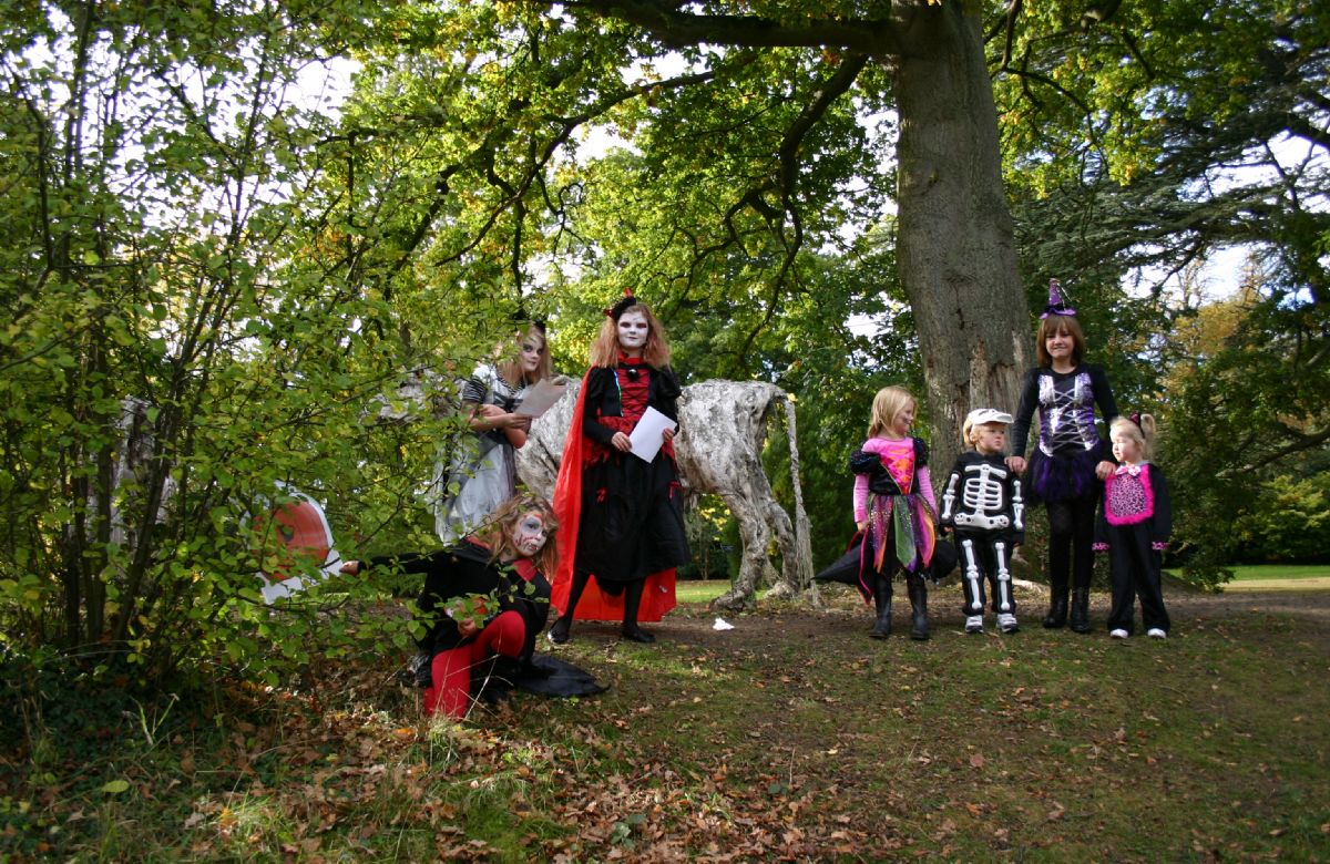 The Burghley Estate invites the family to spooky Halloween trails