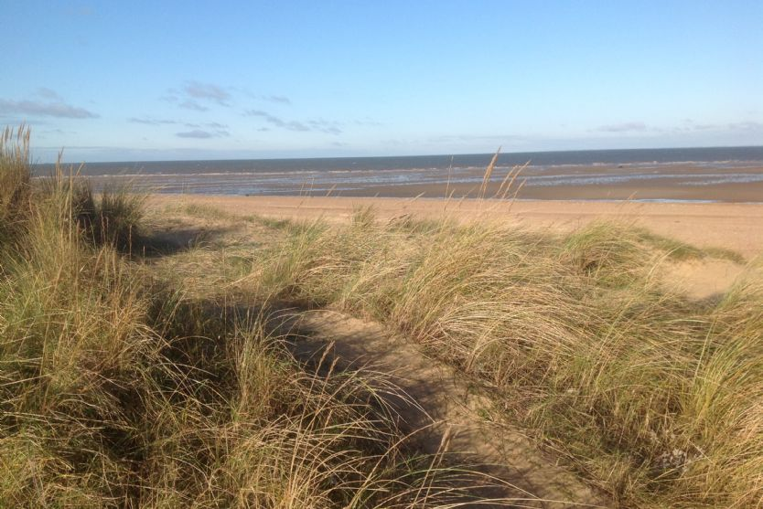 Local area: Old Hunstanton beach