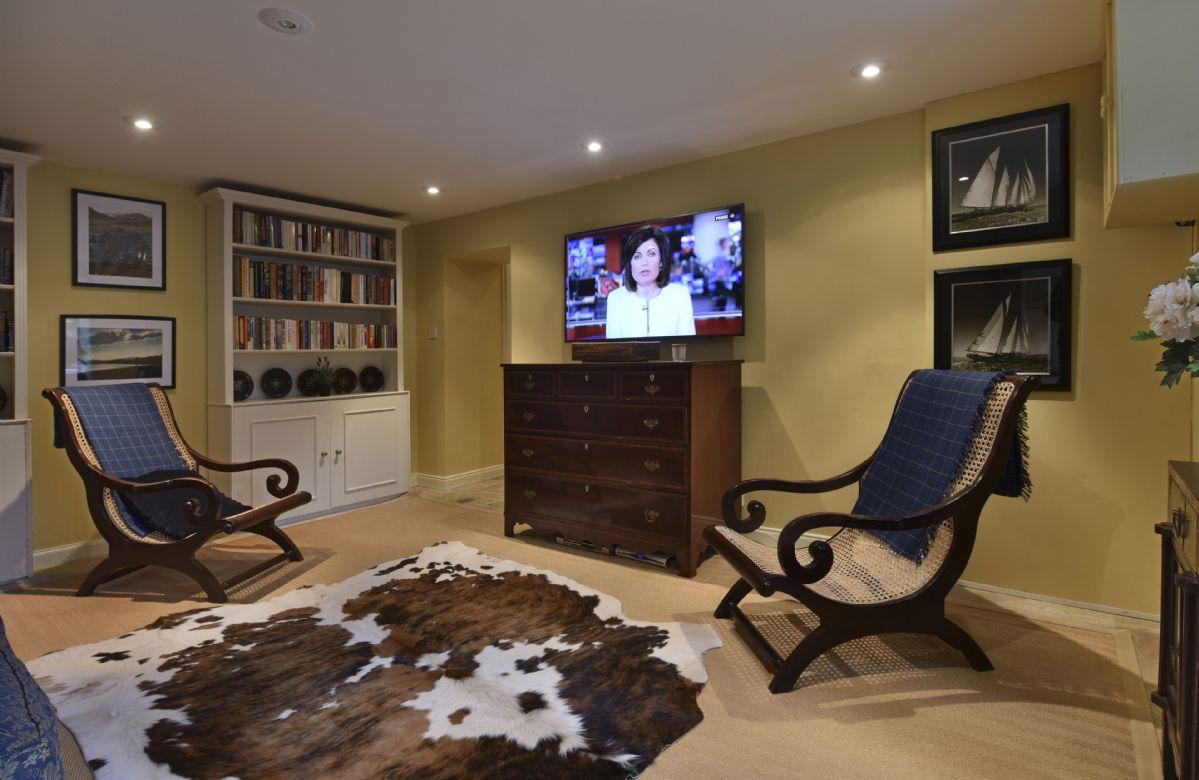 Ground floor: TV room with Sky TV