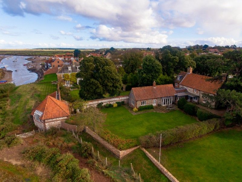 Scott's Cottage | Scotts Cottage Aerial