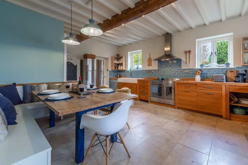 Ground floor: The large kitchen/diner offers plenty of space for cooking and entertaining