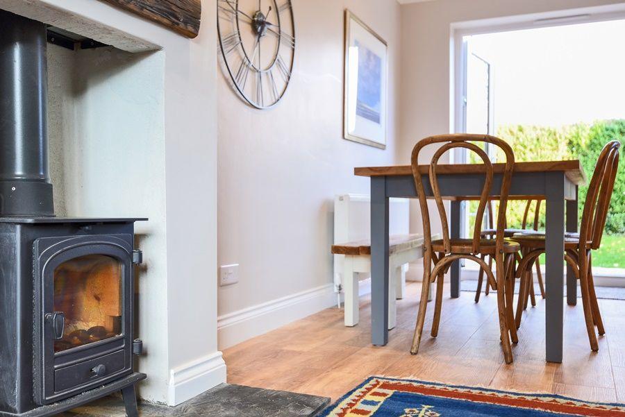 Orchard House Docking | Wood burner