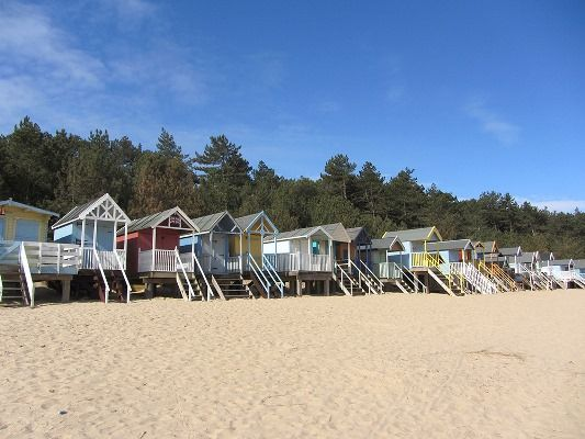 Wentworth Retreat | Beach huts at Wells
