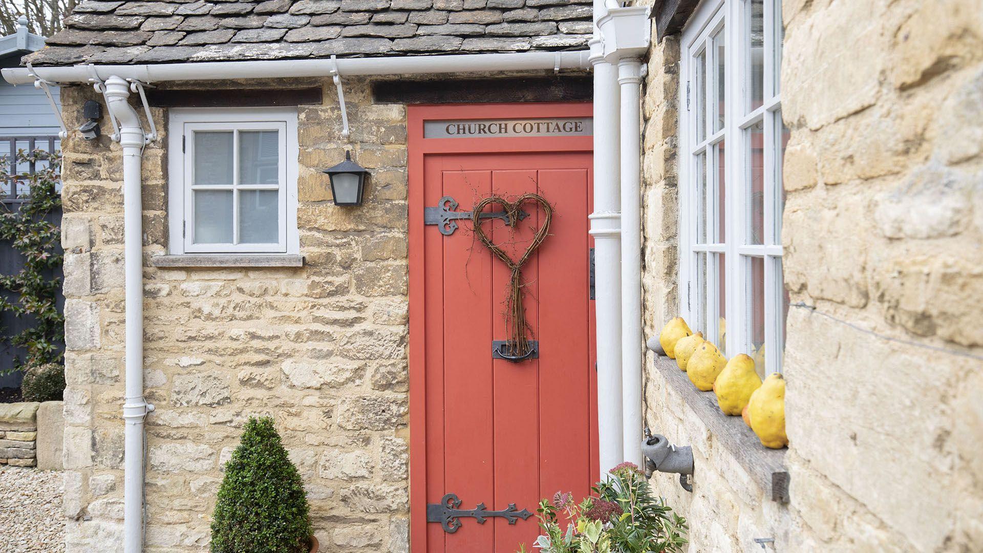 Front Entrance, Church Cottage, Bolthole Retreats