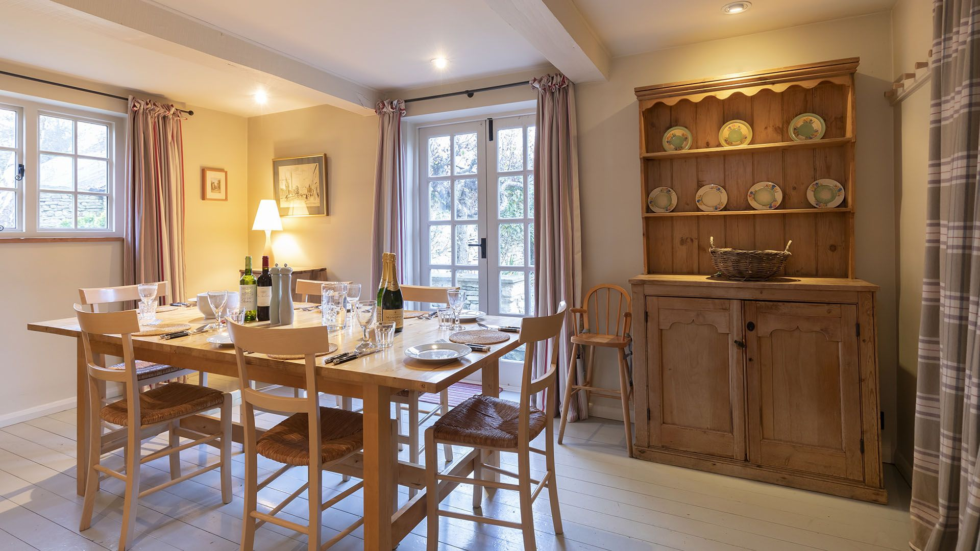Dining Room, Church Cottage, Bolthole Retreats
