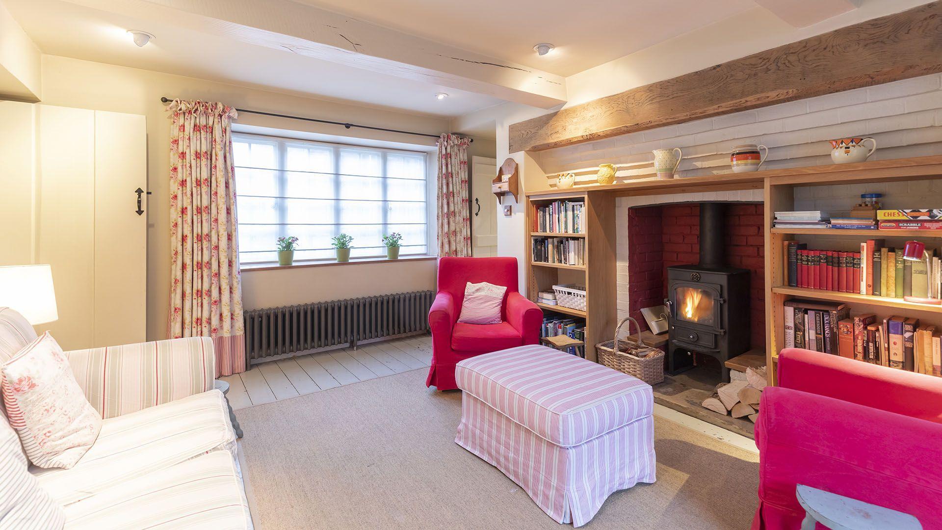 Sitting room, Church Cottage, Bolthole Retreats