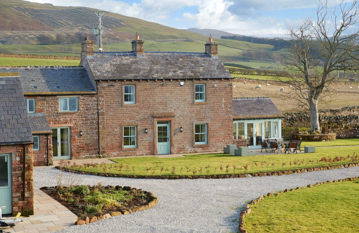Todd Hills Hall Farmhouse, Cumbria, England
