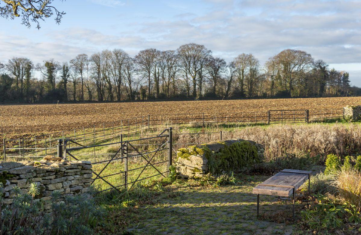 Beautiful country scenery surrounds Hailstone Barn