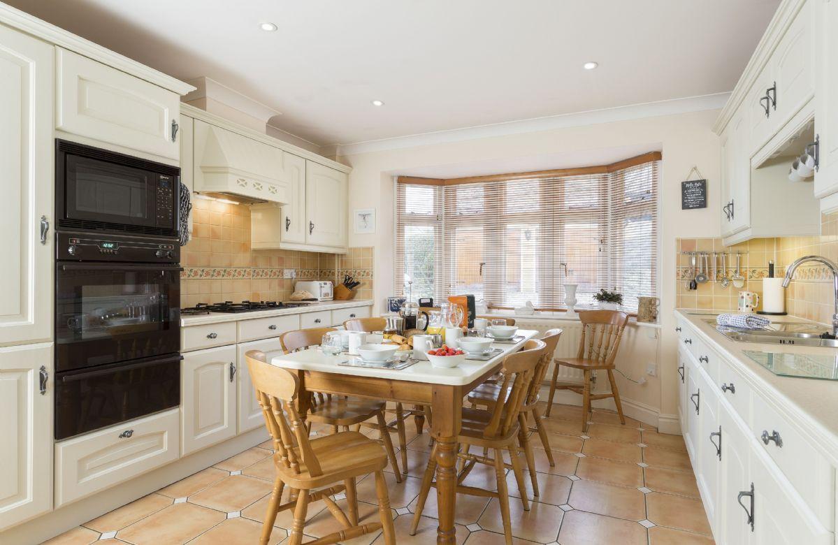 Ground floor: Open plan kitchen and breakfast room