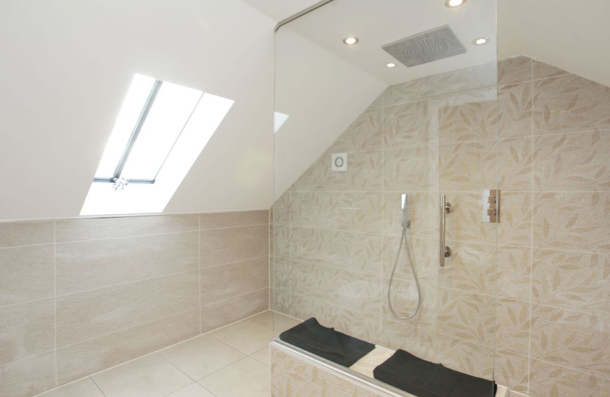 First floor: Ensuite with large walk in shower