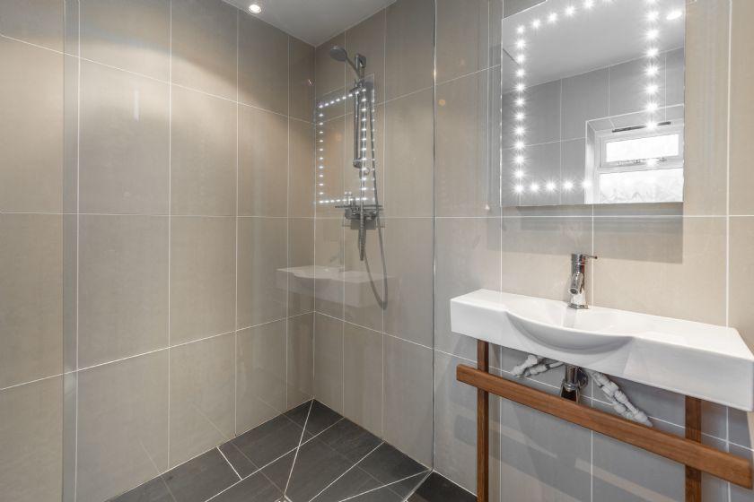 Ground floor:  Wet room