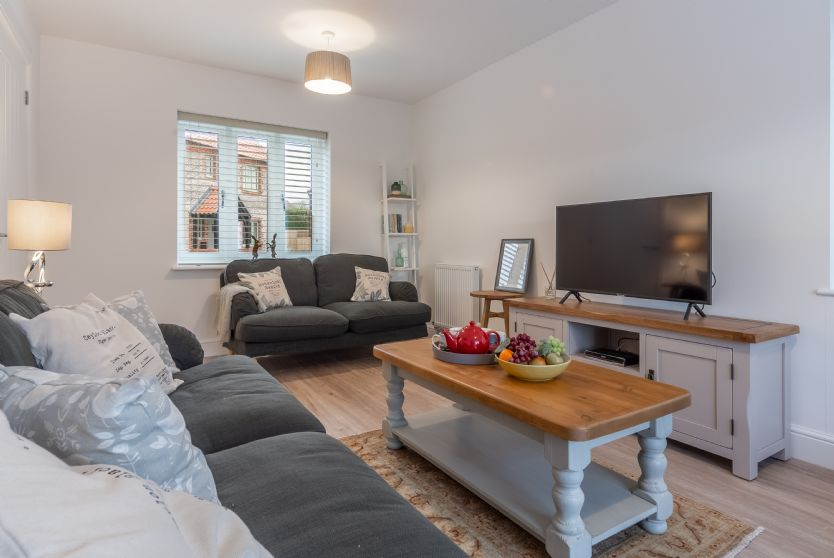 Ground Floor:  Dual aspect sitting room