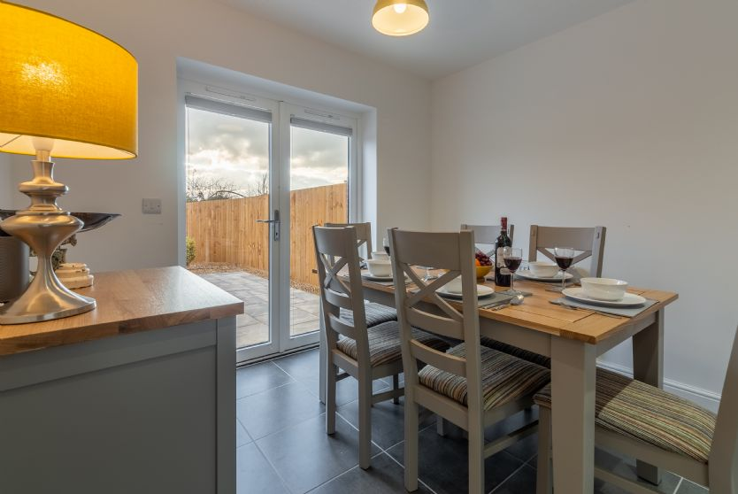 Ground Floor: Kitchen/diner with french doors leading onto the rear garden
