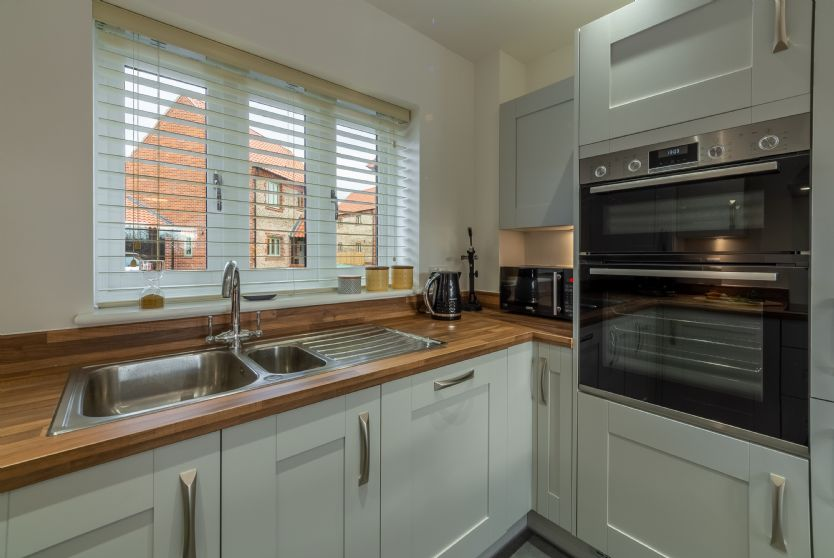 Ground Floor: The kitchen is well equipped with all the appliances you could wish for