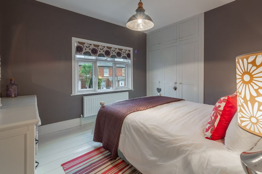 First floor: Master bedroom with views to the front of Number 22
