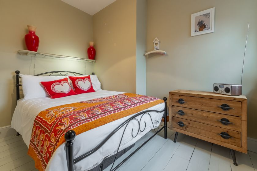 First floor: Second bedroom