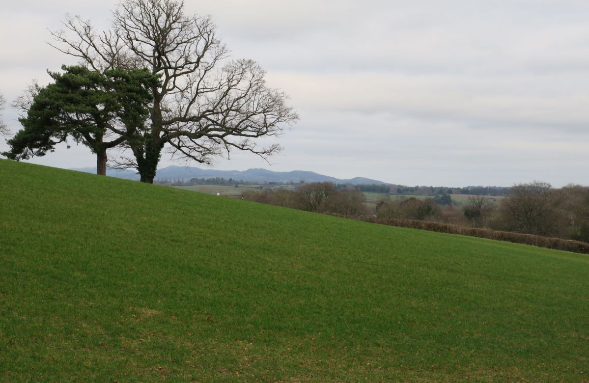 Stunning countryside views of this beautiful farmland, once a private estate