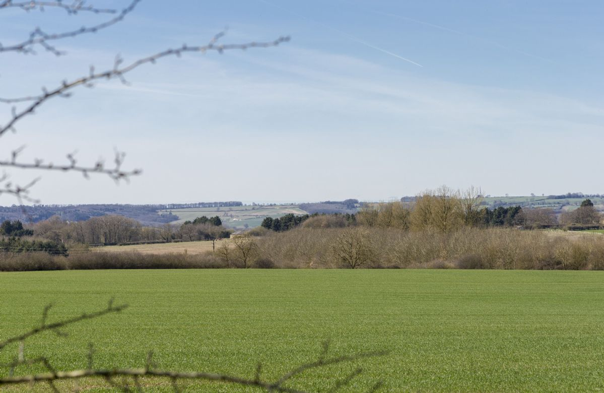 Breathtaking views of the Oxfordshire countryside