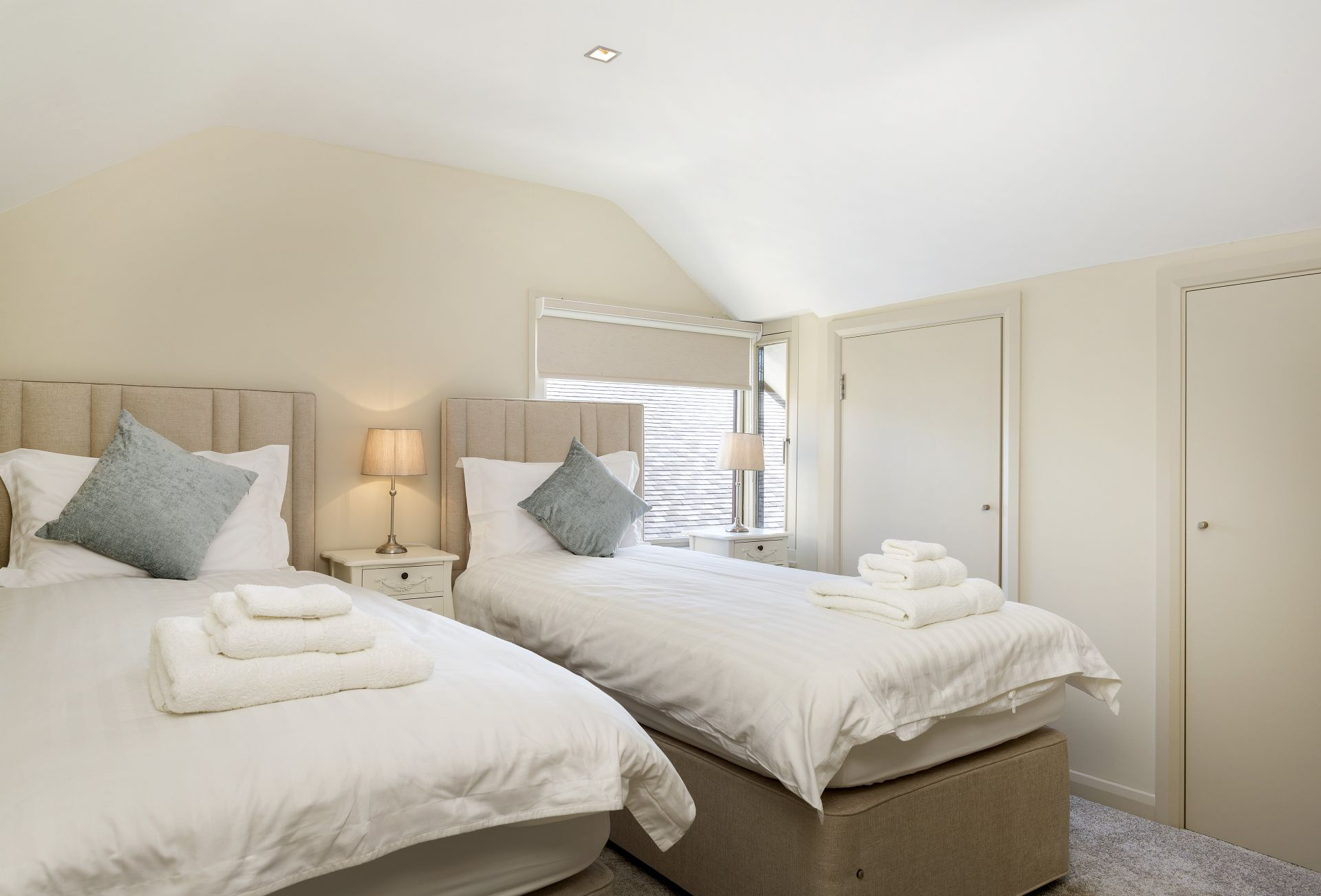 First floor: Twin bedded room