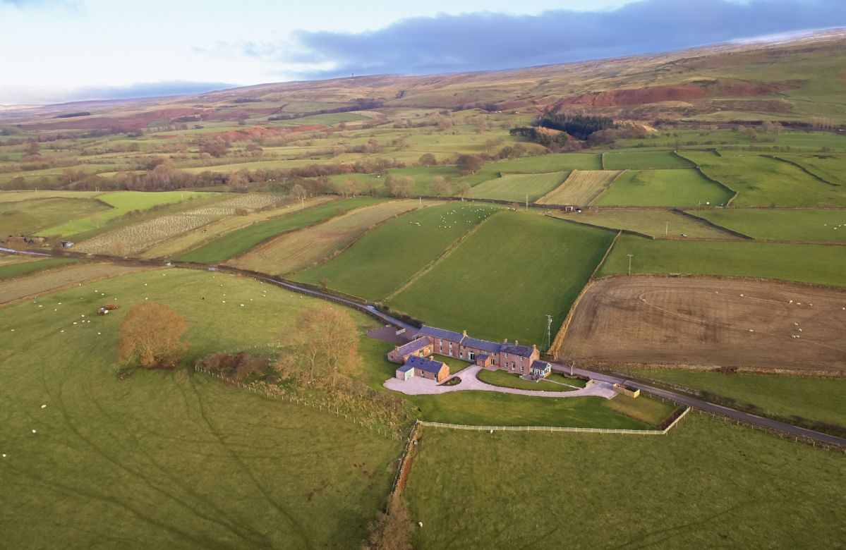 Gill Beck Barn, Todd Hills Hall Farmhouse and Vale Croft are located in the rolling landscape of the Eden Valley