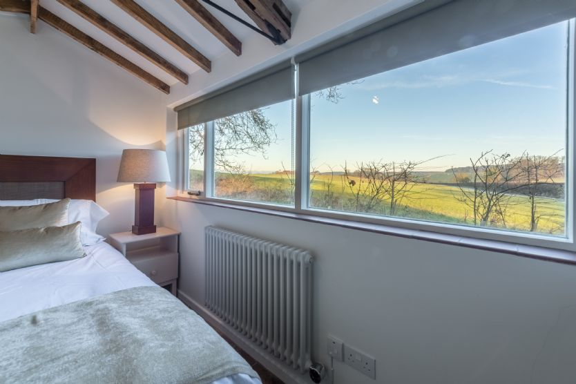 The Nut: View from the bedroom across the valley