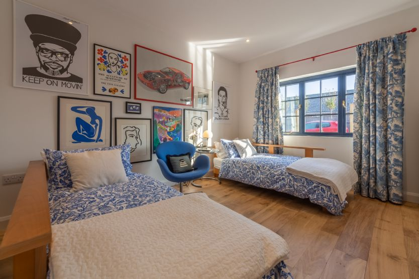 Ground floor: Bedroom 3