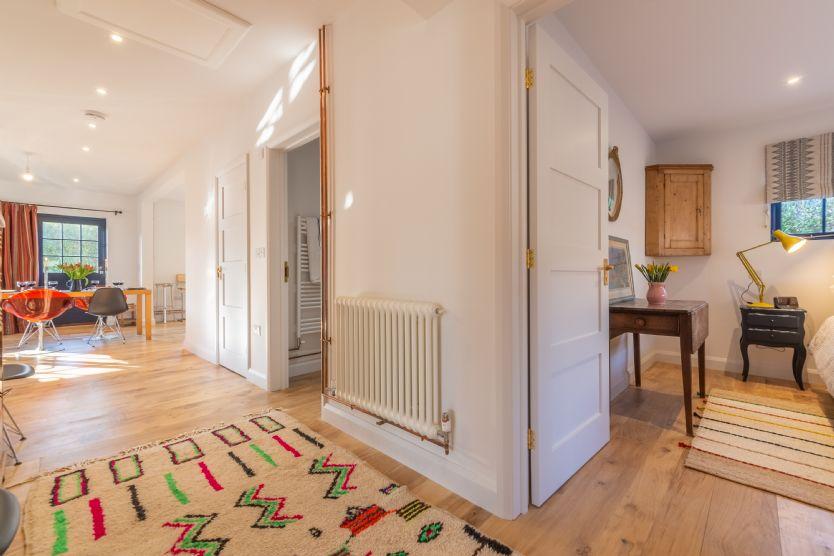 Ground floor: Hallway to master bedroom