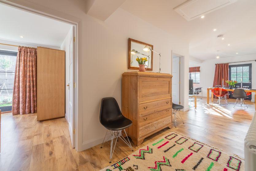 Ground floor: Hallway to bedroom 2