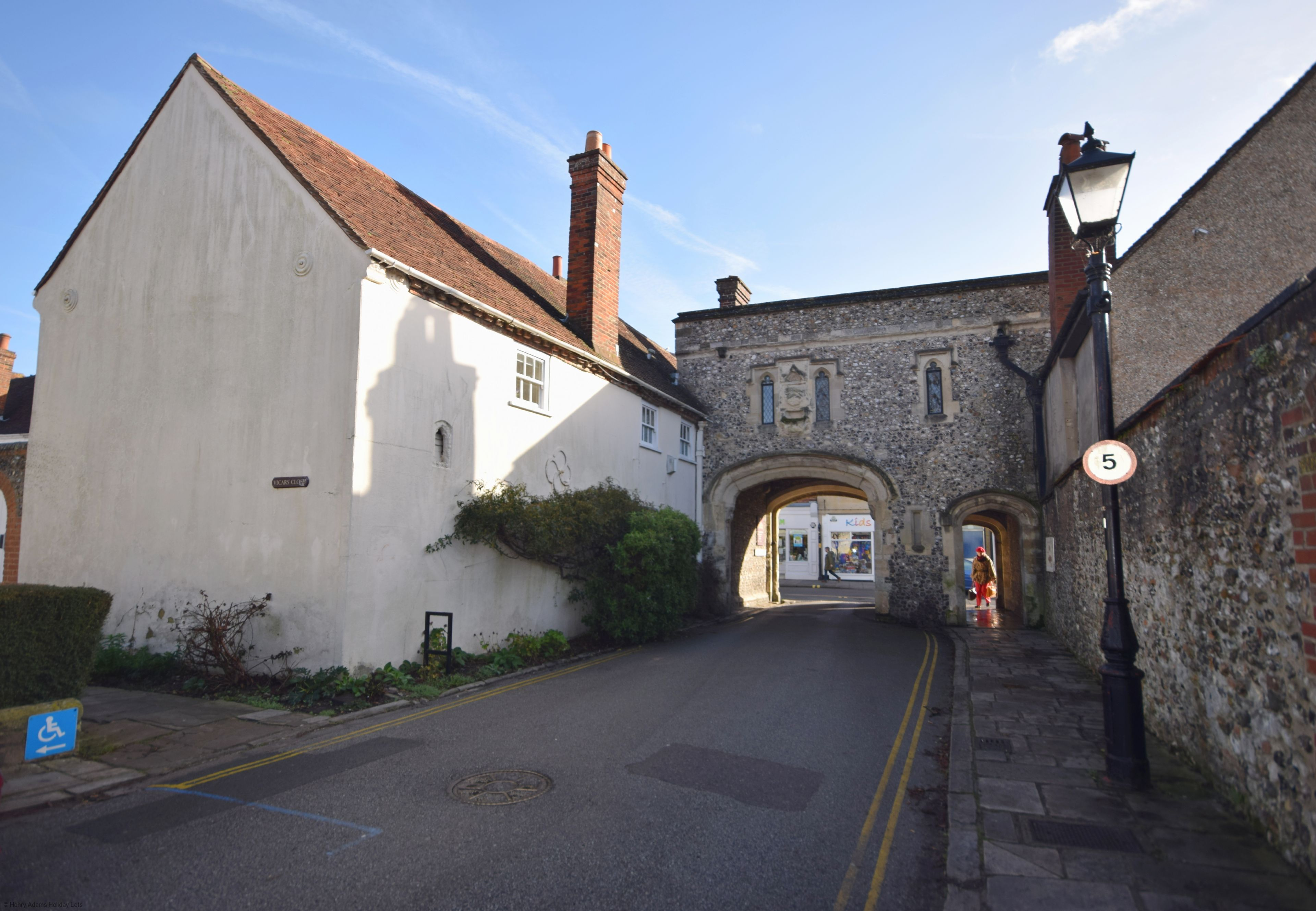 Canon Gate , Chichester Cathedral