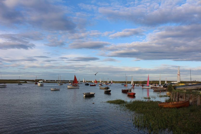 Beautiful Burnham Overy Staithe ... you are only about a 10-minute drive from the trendy village of Burnham Market and its eateries and the North Norfolk coast and harbours