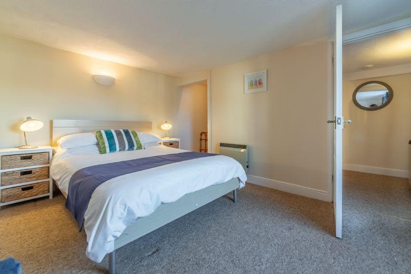 First floor: Main bedroom