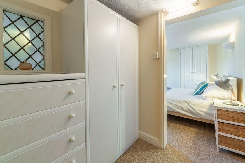 First floor: Main bedroom dressing area