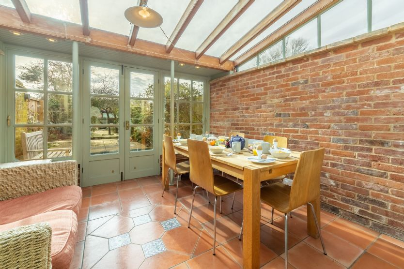 Ground floor: Dining conservatory