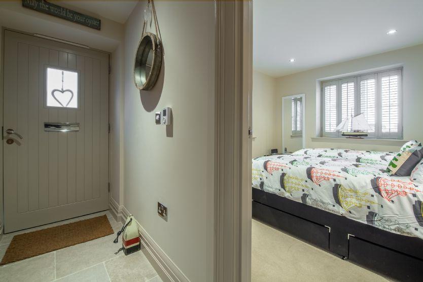 Ground floor: Hall to bedroom 2