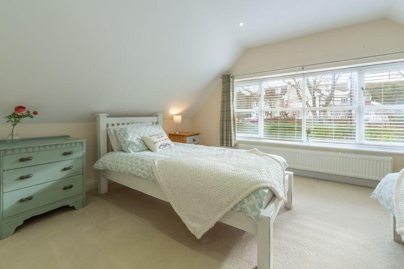 First floor: Bedroom two