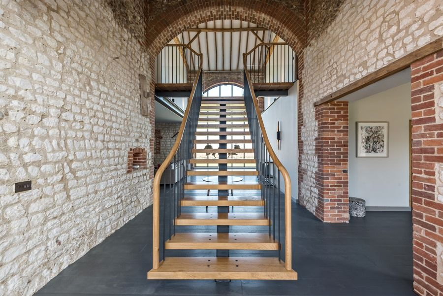 Beacon Hill Barn | Staircase