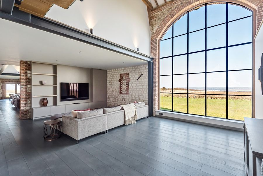 Beacon Hill Barn | TV area views