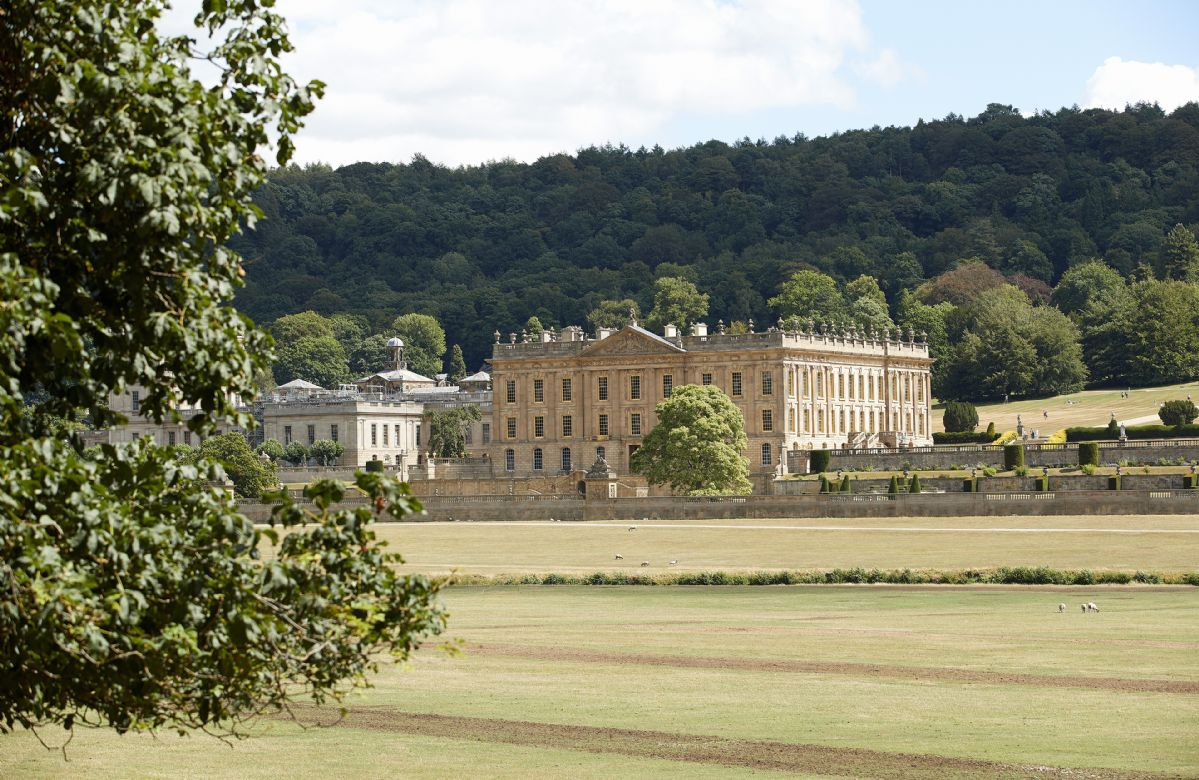 Chatsworth House is only a short twenty minute drive for a great day out for the whole family
