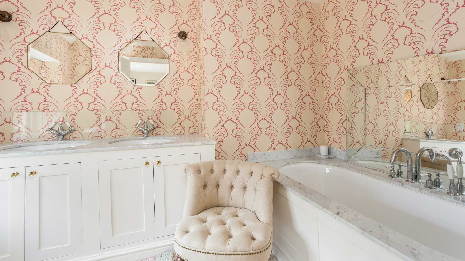 Penscombe House Bathroom - StayCotswold