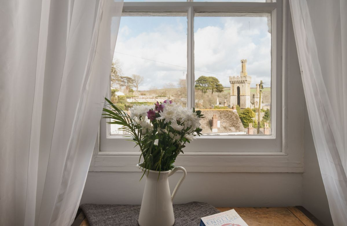 Lovely views from the first floor bedroom
