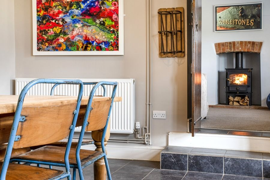 Cobblestones Brancaster Staithe | From kitchen to family room