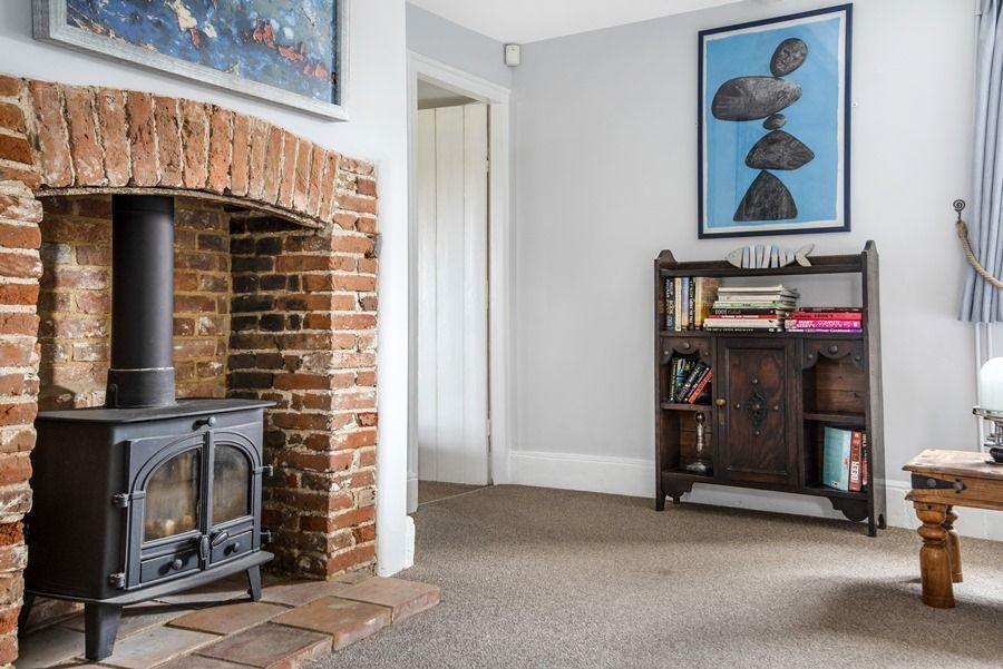 Cobblestones Brancaster Staithe | Fireplace