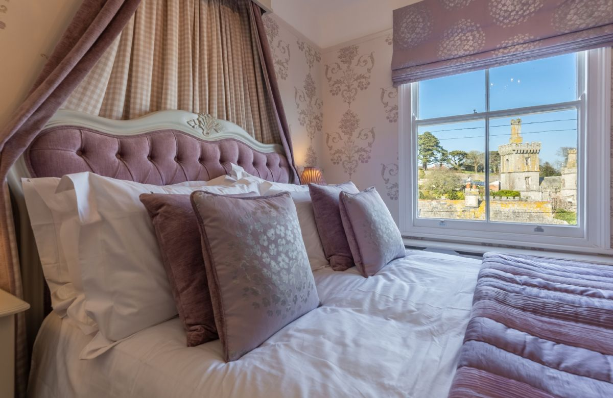 First floor: Stunning views over the estuary from the master bedroom