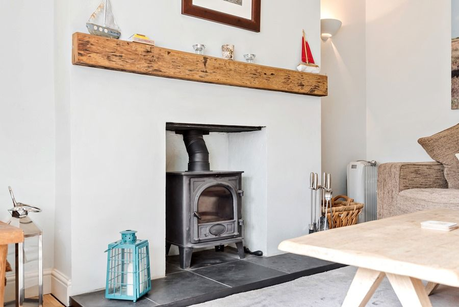2 School Row | Wood burner