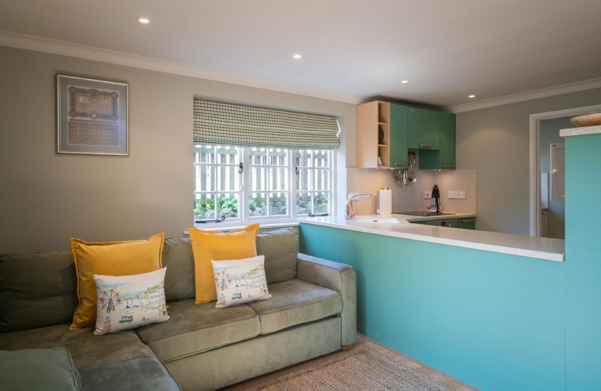 Ground floor:  Open plan kitchen with snug/sitting area