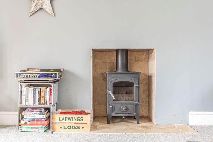 Lapwings | Wood burner
