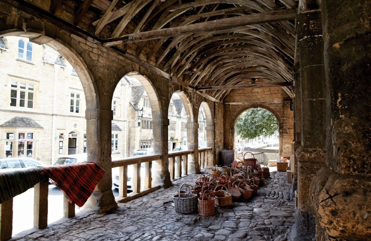 The stunning Market Hall in Chipping Campden