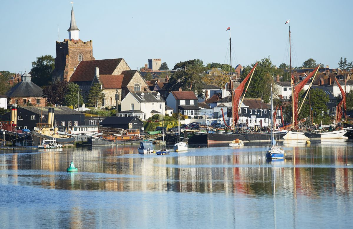 This ancient Essex town, with its oldest part sitting high on a hill overlooking the Blackwater estuary
