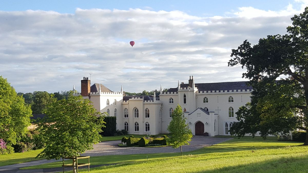Combermere Abbey was originally a cistercian Monastery dating from 1133 then became a Tudor Manor
