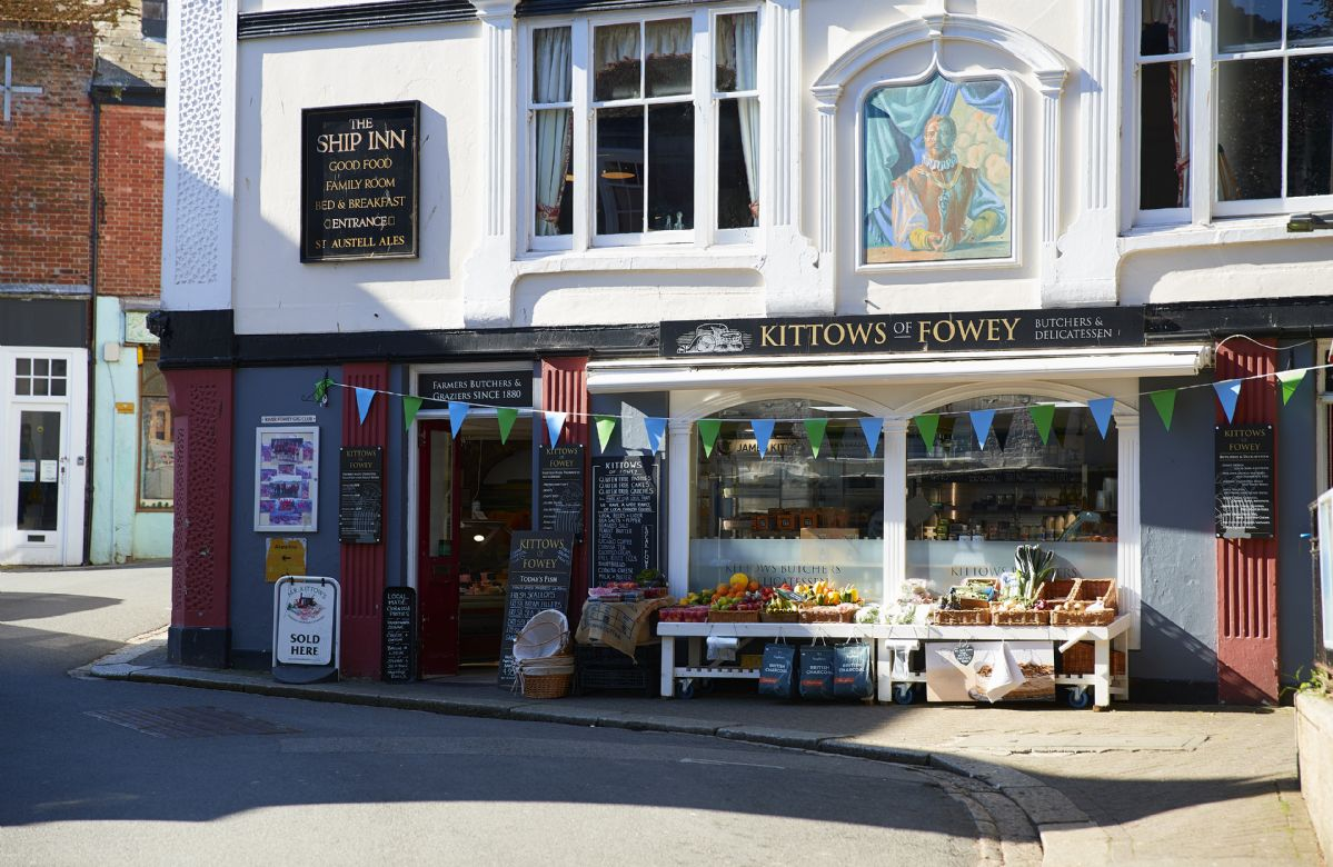 The town of Fowey is charming and full of exquisite little shops and boutiques